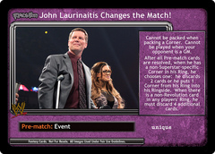 <i>Revolution</i> John Laurinaitis Changes the Match!